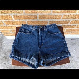 American Apparel High Waist Shorts Sz30